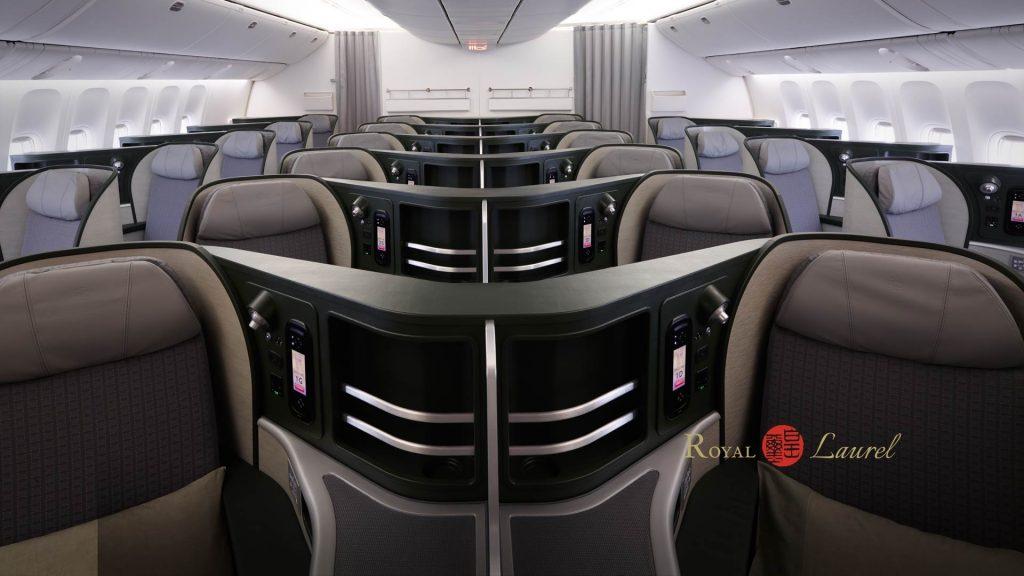 ภาพ Royal Laurel Class จากเว็บของ EVA Air